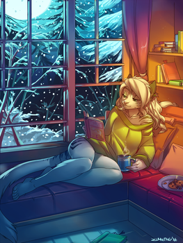 Winter Night by Zummeng