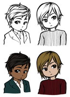 LH: Srs faces by zulenha