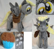 Derpy Hooves Plush by Cryptic-Enigma