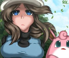 Blue and Wigglytuff