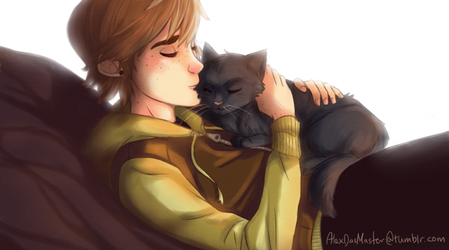 Hiccup and Toothless by AlexDasMaster