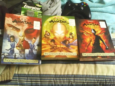 Avatar dvd set by fruckles
