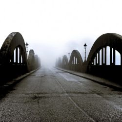 Mist: Bridge on the Dee2 by Coigach