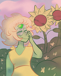 Sunflower gal by Lost-Banshee