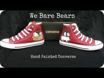 We Bare Bears Converse - YouTube video is up! by rawrdoodles