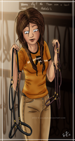 Comparing Halters in the Tackroom by Jullelin