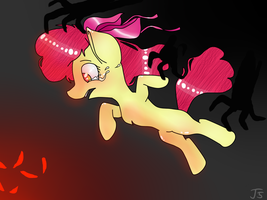 AppleBloom in the hell by TinaART2305