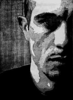 Portrait Etching by Anyhero40