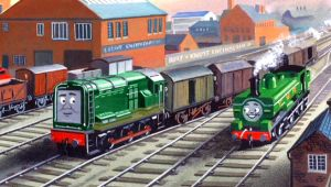 Paxton in the Railway Series by The-ARC-Minister
