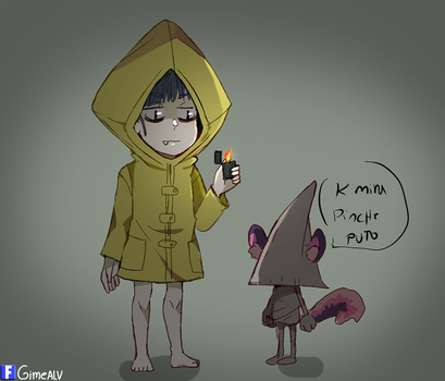 little nightmares coso by Gimeno-alv