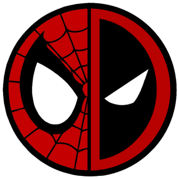 Spideypool Logo by irocandrew