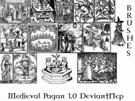 Pagan Medieval Brushes 2.0 by DeviantNep