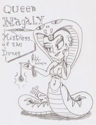 Queen Nagaly by megawackymax