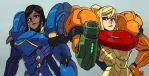 Samus and Pharah by oh8