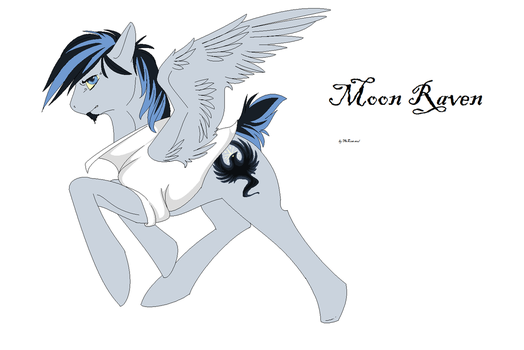 Moon Raven by firecomet626