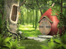 House of a Fairy by Trisste-stocks