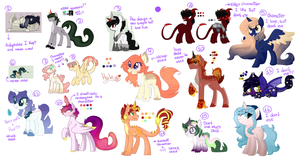 Adoptables (set prices) by SugarySharky