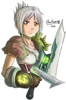 League of Legends - Riven by ClowKusanagi