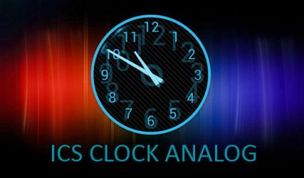 ICS Clock Analog for XWidget by boyzonet