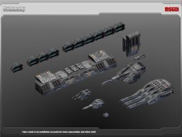Scifi Dreadnought Modular Equipment by msgamedevelopment