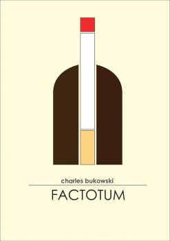 factotum - Charles bukowski book cover by yurinkab