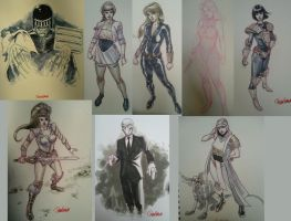 Bristol sketches 2012 by DylanTeague
