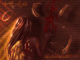Between Heaven and Hell by joulee