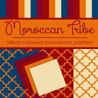 Free Moroccan Tribe: Marrakesh Pattern by TeacherYanie