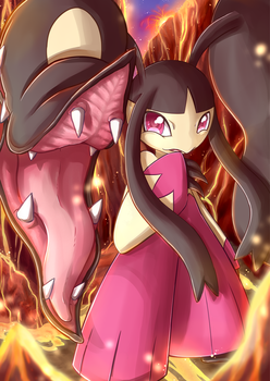 Mega Mawile by Linachi0
