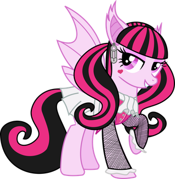 Draculaura Ponified by PrinceOfRage