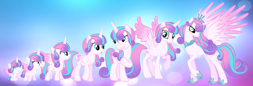 flurry heart baby to adult by ZelanaMLP