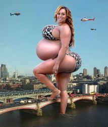 Mel B - Hungry Giantess, day 4. by BritBE