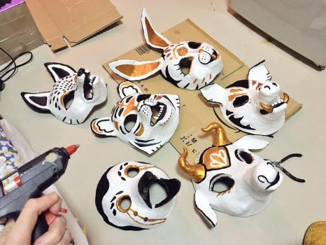 masks by Sout