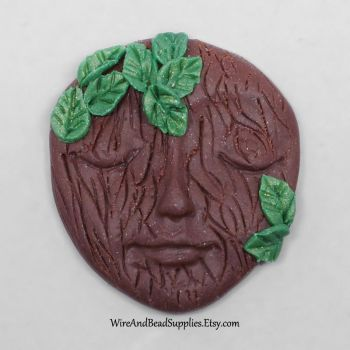 Tree Face Cabochon by Gailavira