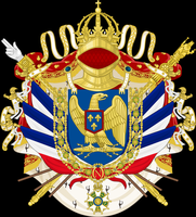 French Imperial Coat of Arms by Gouachevalier
