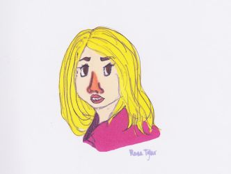 Rose Tyler by A-Dance-In-The-Rain