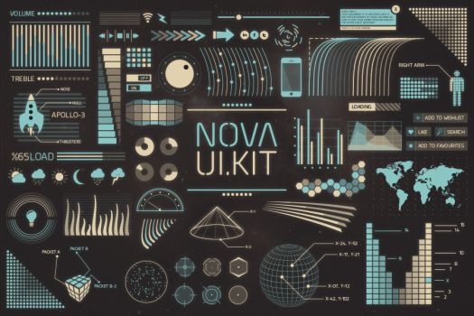 Nova UI Kit by wpthemes
