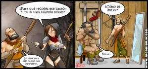 Living with Hipstergirl and Gamergirl #113 by JagoDibuja