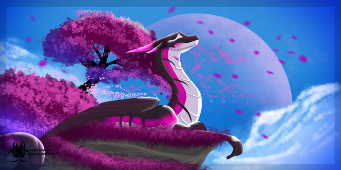 Thousands of cherryblossoms by LuckyLombaX