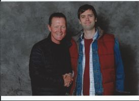 Robert Patrick and me by EgonEagle