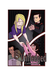 Unfledged Cover Art - Take 1 by curiousdoodler