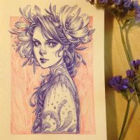 Daily Sketch: Inktober Day 11 by dimary