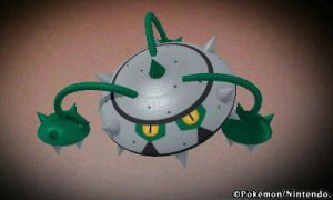 Pokedex 3d - Ferrothorn