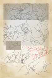 Life of Reign - Page 23 (work in progress) by GorillaSketch