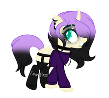 (C) Gothic Chick by BloodLover2222