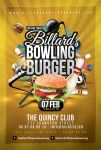 Billiard Bowling Burger Party by n2n44