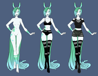 [P] Clover Reference by NixieDrakos