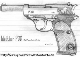 Walther P38 by CrazyDave55811