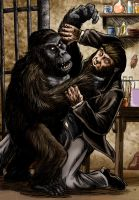 The End Of The Ape Man by Loneanimator
