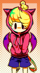 COLLAB- Ultimate Lucas [ Mother 3 / EarthBound 2 ] by ShinyMawile